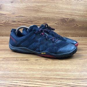 Merrell Trail Glove 4 Black Barefoot Running Shoes